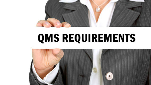 QMS requirements